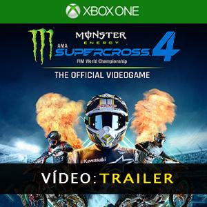 Monster Energy Supercross 4 Vídeo do atrelado