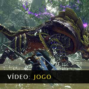 MONSTER HUNTER RISE Vídeo de jogabilidade