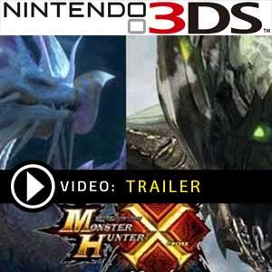 Comprar código download Monster Hunter X Nintendo 3DS Comparar Preços