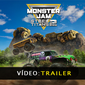 Monster Jam Steel Titans 2 Vídeo do atrelado