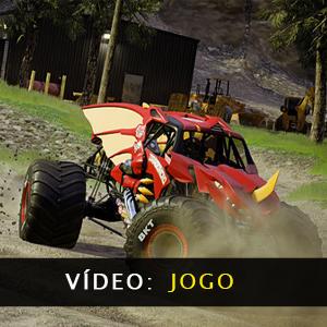 Monster Jam Steel Titans 2 Gameplay Video