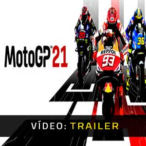 MotoGP 21 Vídeo do atrelado
