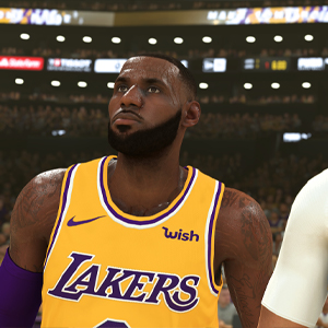 NBA 2K20 - LeBron James e Anthony Davis