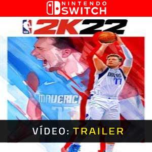NBA 2K22 Nintendo Switch Atrelado De Vídeo
