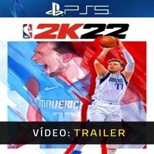 NBA 2K22 PS5 Atrelado De Vídeo