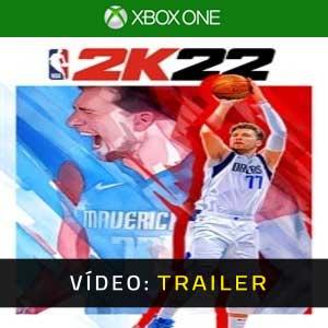NBA 2K22 Xbox One Atrelado De Vídeo