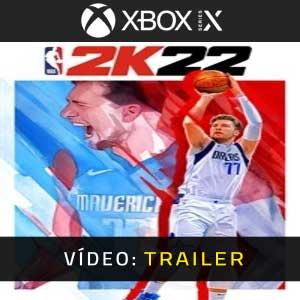 NBA 2K22 Xbox Series X Atrelado De Vídeo