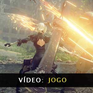 Nier Automata Vídeo de jogabilidade