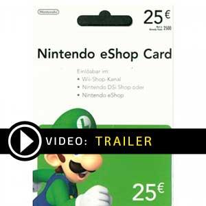 Comprar cartao Nintendo eShop 25 Euro Comparar Precos