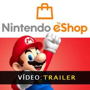 Nintendo eShop Cards Atrelado de vídeo