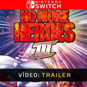 No More Heroes 3 Nintendo Switch Atrelado De Vídeo