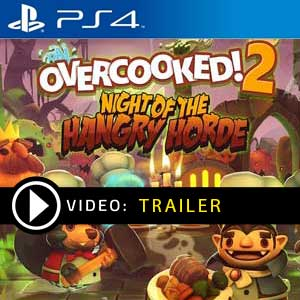 Comprar Overcooked 2 Night of the Hangry Horde PS4 Comparar Preços