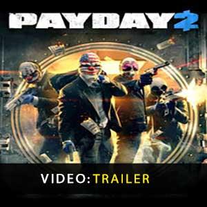 Payday 2 Vídeo do atrelado