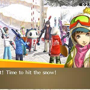 atingir a neve