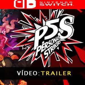 Persona 5 Strikers Vídeo do atrelado