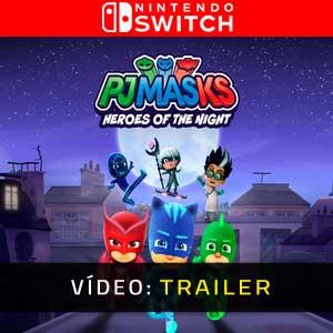 PJ Masks Heroes of the Night Nintendo Switch Atrelado De Vídeo