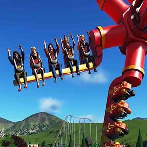 Passeios de montanha russa Planet Coaster