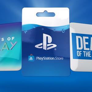 Playstation Gift Card Deal van de week