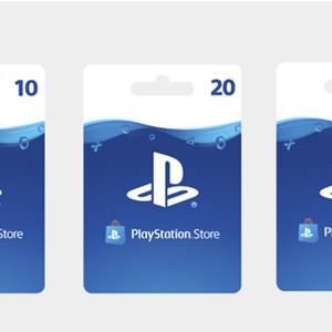 Playstation Gift Card PlayStation Store