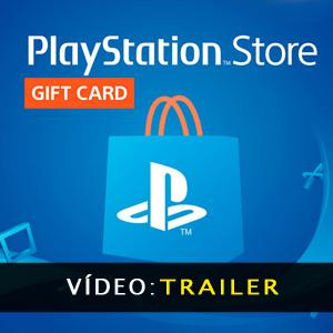 Playstation Gift Card Aanhangwagen