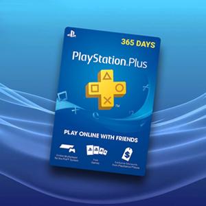 Playstation Plus 365 Days CARD - Cartão de jogo