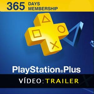 Playstation Plus Cartão 365 Dias - Vídeo Trailer