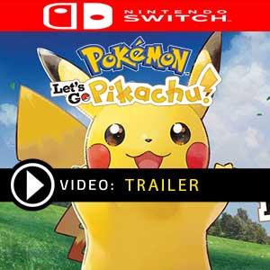 Comprar Pokemon Lets Go, Pikachu! Nintendo Switch barato Comparar Preços