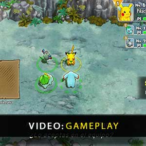 Pokemon Mystery Dungeon Rescue Team DX Gameplay Video