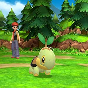 Pokémon Shining Pearl Nintendo Switch Turtwig