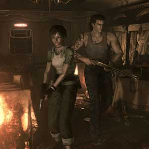 Resident Evil 0 Caracteres HD