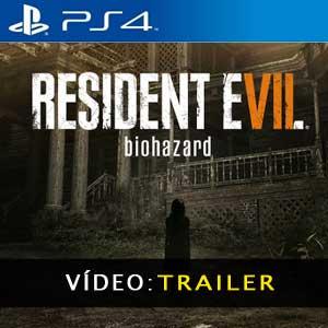 Resident Evil 7 Biohazard PS4 Atrelado De Vídeo