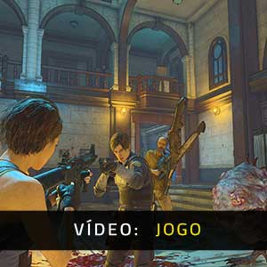 Resident Evil Re:Verse Vídeo de jogabilidade