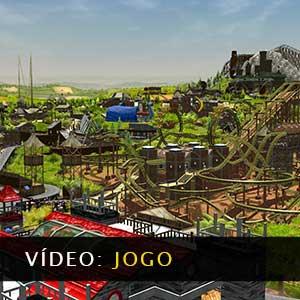 RollerCoaster Tycoon 3 Complete Edition Vídeo de jogabilidade