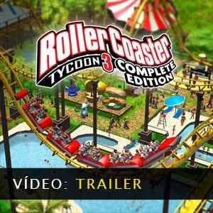 RollerCoaster Tycoon 3 Complete Edition Vídeo do atrelado