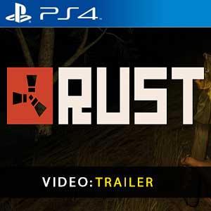 Vídeo do trailer da Rust PS4