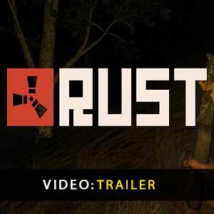 Vídeo do trailer da Rust