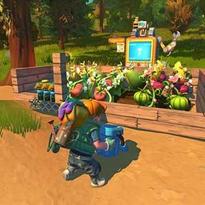 Farmbots que trabalham nos campos