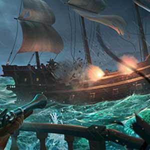 Thieves Sea Battle