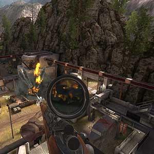 Sniper Elite VR - Atirador furtivo