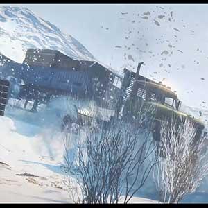 SnowRunner camião de neve