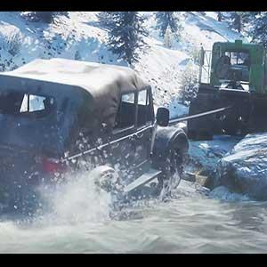 SnowRunner camião automóvel