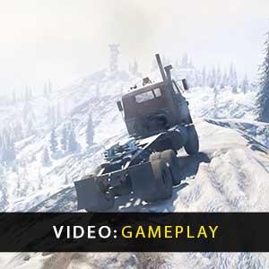 SnowRunner vídeo de jogabilidade