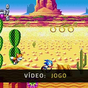 Sonic Mania Vídeo de jogabilidade