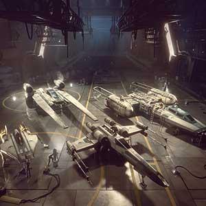 cockpits dos combatentes das estrelas