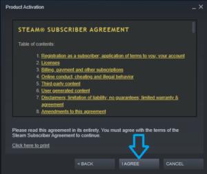 Acordo de Steam
