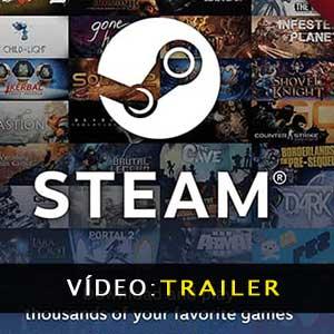 Gift Card Steam Atrelado de vídeo