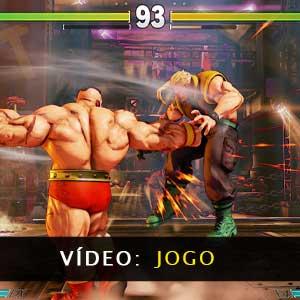 Street Fighter 5 vídeo de jogabilidade