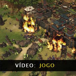 Stronghold Warlords Vídeo de jogabilidade