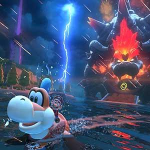 Super Mario 3D World + Bowser s Fury Nintendo Switch - Nuvens de trovão