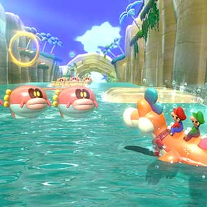 Super Mario 3D World + Bowser s Fury Nintendo Switch - Monstros do Rio